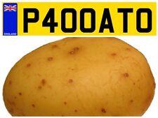 P400 ATO HOT JACKET POTATO SPUD VAN TRAILER FOOD PRIVATE NUMBER PLATE GRUB