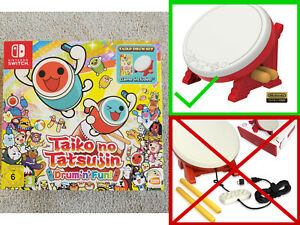 UK Official Nintendo Product: Taiko no Tatsujin: Drum 'n' Fun! DRUM KIT ONLY