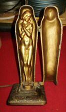 New listing Antique Old Art Deco Nouveau Aronson Mummy Egyptian Revival Erotic Lamp