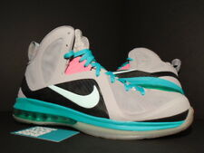 Nike Air Max LEBRON IX 9 P.S. PS ELITE SOUTH BEACH PRE-HEAT MIAMI GREY PINK 13