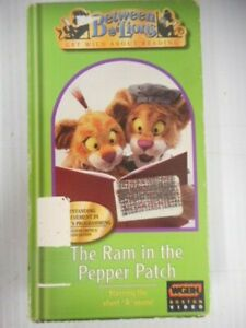 PBS Kids Between The Ram In The Pepper Patch VHS Short A Sound Reading Learning