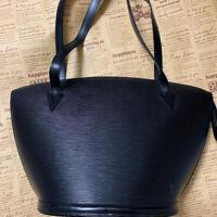 Louis Vuitton LV Saint Jacques Shopping Epi Shoulder Bag Used