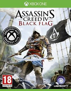 Assassin's Creed IV 4 Black Flag Xbox One Brand New Factory Sealed Assassins