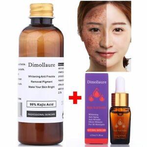 99% Kojic Acid Whitening Freckle Melasma Spots Pigment Sunburn Melanin Remover