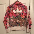 Adidas Originals Jardineto Farm Jacket Pink Floral Xs