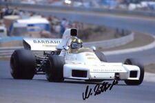Wilson Fittipaldi signé Brabham BT34 GERMAN GRAND PRIX NURBURGRING 1972