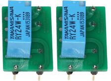 Relais NF2 EB 12V Ersatz 2 Stck Revox B77 Oscillator 1.177.240 - .243  AZ7-2C