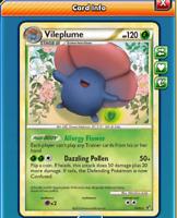 DIGITAL Allergy Flower Vileplume pokemon tcg online