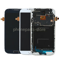 For Samsung Galaxy S4 i9500 LCD Display Touch Screen Digitizer Assembly + Frame