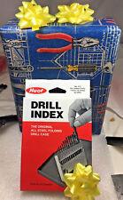 Lastcut Heavy Duty Nas 907 Split Point 116 14 Hss Drill Bit Set Huot Case