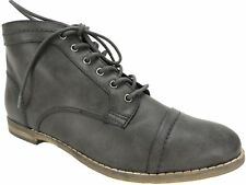 Indigo Rd. Women's Harts Lace-Up Oxford Booties - Ankle Boot Gray Size 9 M
