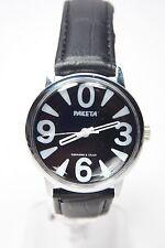 Russian mechanical watch RAKETA BIG ZERO. Black dial. 34mm