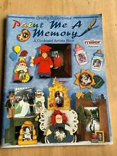 Tole Painting Instruction and Pattern Book Memory Frames Wooden Decor Crafts