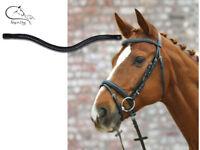 "Waldhausen ""Star Flash"" Bridle Padded Comfort Flash Browband Pony- Full FREE P&P"