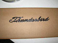 1965-67 FORD THUNDERBIRD QUARTER PANEL EMBLEM SCRIPT
