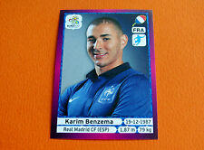 480 KARIM BENZEMA REAL MADRID  FRANCE  FOOTBALL PANINI UEFA EURO 2012
