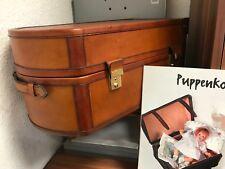 Leder Koffer 39,5 cm. Top Zustand