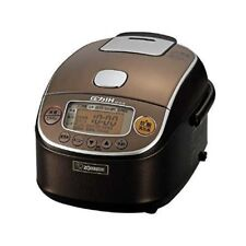 ZOJIRUSHI NP-RL05-TA Pressure IH Rice Cooker 3 Go Brown Fast Shipping Japan EMS
