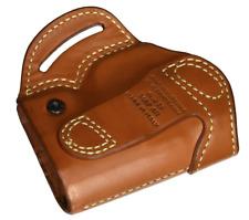 BLACKHAWK! Leather Compact Askins Brown Holster, Size 01, RH For Colt Govt/Comm