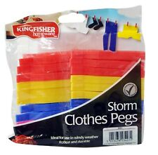 Large Clothes Pegs Grip Storm Clothing Washing Line Pegs Clip