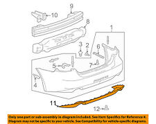 Pontiac GM OEM 05-08 Grand Prix Rear Bumper-Lower Trim 10341533