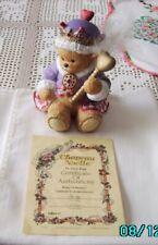 Chapeau Noelle King Of Hearts Lucy Rigg Bears Figurine #0249 w/Certificate