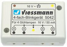4fach Blinkgerät für Spur N Viessmann 5042 Top