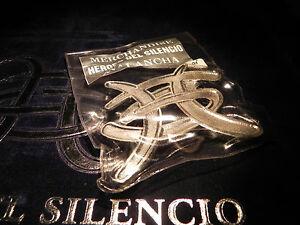 HEBILLA  HEROES DEL SILENCIO  COLOR PLATA   -   MERCHANDISE AVALANCHA - 1995