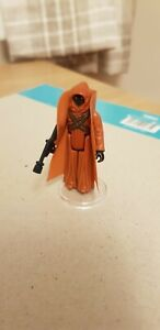 Vintage Star Wars Figure Jawa Vinyl Cape (VCJ) complete with blaster no COO