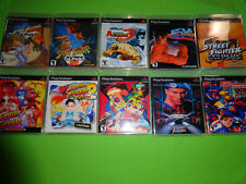 Empty Replacement Cases - Street Fighter Collection PlayStation 1 PS1 PS2 PS3