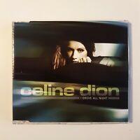 CELINE DION : I DROVE ALL NIGHT (PROMO) ♦ CD MAXI ♦