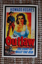 The Outlaw Lobby Card Movie Poster Western Howard Hughes Billy the kid