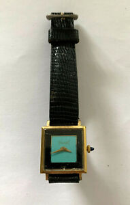 Piaget Ladies Light Blue Face 18k Gold electroplated Automatic Watch 423