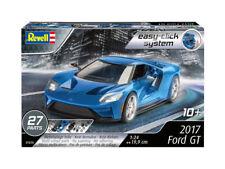 Revell 1:24 07678 2017 Ford GT fácil-haga clic en modelo kit de coche de primera clase franqueo