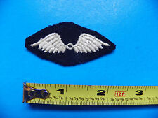 WWII ORIGINAL 1943 AVIATION GENERAL UTILITY DISTINGUISHING MARK PATCH-NO GLOW