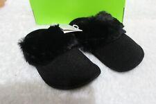 Crocs Classic Luxe Men/'s Women/'s Black Cozy Comfort Slipper