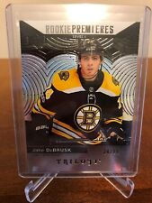 2017-18 Jake DeBrusk 24/99! Upper Deck Trilogy Rookie Premieres