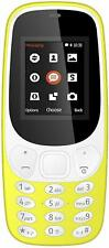 Ikall K3310 Basic Feature Mobile Phone, 64mb (Yellow) Feature Phone