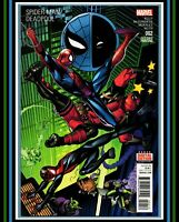 Spider-Man/Deadpool #2 *2nd PRiNT VaRiaNT* HTF (2016) Marvel Comics vs  (NM 9.4)