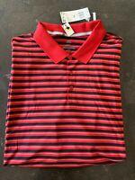 Adidas Men's Ultimate 365 3 Stripe Golf Polo Shirt UPF 50+ DN4267 SZ 4XL NW T$70