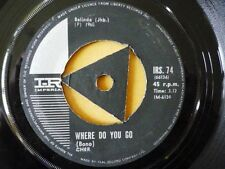 CHER = WHERE DO YOU GO / SEE SEE BLUES (CC RIDER)- VERY RARE SOUTH AFRICAN ISSUE
