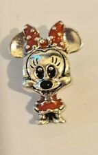 Minnie Mouse 925 ALE Stamped Sterling Silver Charm Gif 4 Birthdays and Christmas