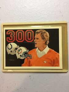 1991 UPPER DECK FOOTBALL #SP2 DON SHULA 300TH VICTORY MIAMI DOLPHINS HOF NM