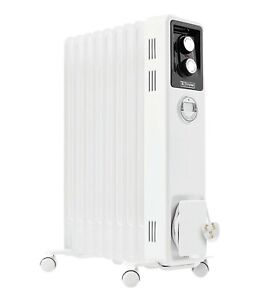 Dimplex White Electric Oil-Filled Thermostatic Radiator 2000W - No:OCR20TIE -New