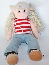 TY Beanie Bopper LUCKY LUCY 13 inch  Stuffed Plush Doll 2002 Lovey