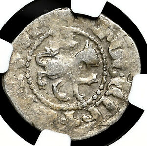 ARMENIA. Levon III Silver Tavorkin, 1301-1307, NGC VF30