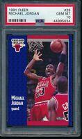 PSA 10 MICHAEL JORDAN 1991-92 Fleer #29 Chicago Bulls HOF GOAT RARE GEM MINT