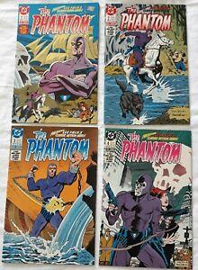 The Phantom Complete 4 Part Mini Series DC COMICS 1988 Lee Falk