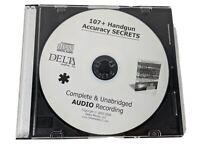 107 handgun accuracy secrets DELTA Complete and Unabridged Audio Recording