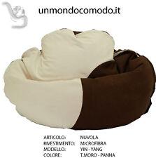 unmondocomodo.it: Poltrona sacco NUVOLA rivestimento MICROFIBRA PANNA & T. MORO